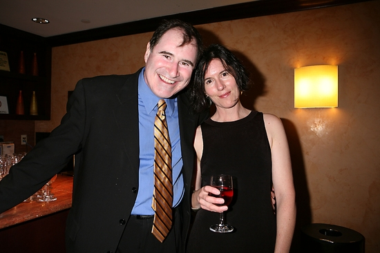 Richard Kind and Kate Loewald
