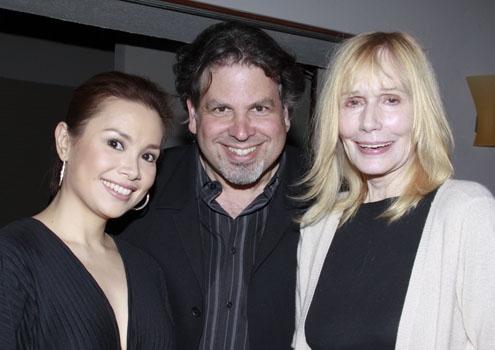 Lea Salonga, Michael Orland, Sally Kellerman at Upright Cabaret