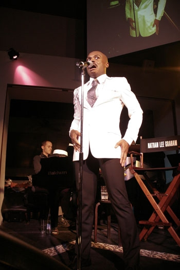Photo Coverage: Nathan Lee Graham's 'Art of Lyric' at Upright Cabaret