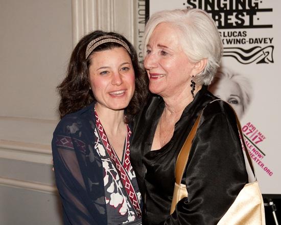 Susan Pourfar and Olympia Dukakis