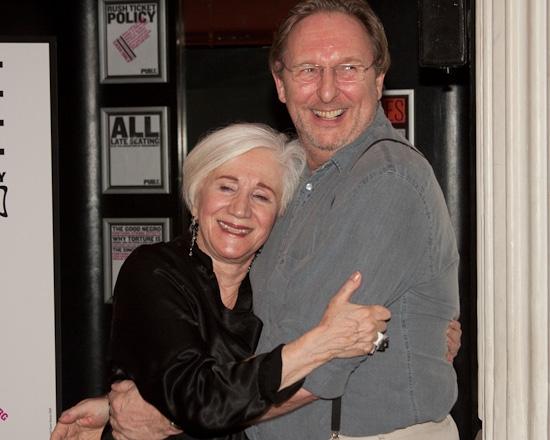 Olympia Dukakis and Mark Wing-Davey