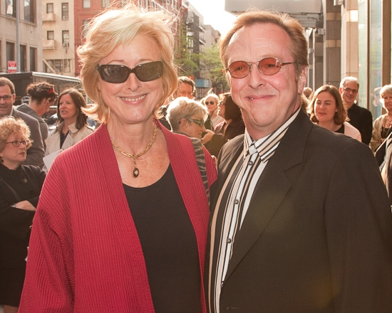 Maria Atkin and Edward Hibbert