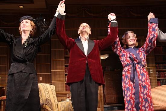Lisa Banes, David Hyde Pierce and Mary Catherine Garrison Photo