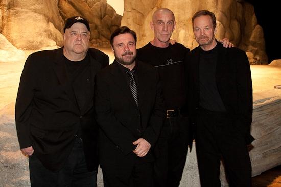 John Goodman, Nathan Lane, John Glover and Bill Irwin