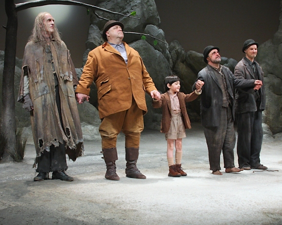 Photo Coverage: 'Let's Go, Yes, Let's Go!' WAITING FOR GODOT - Opening Night Curtain Call