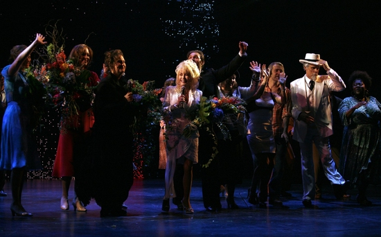 Stephanie J. Block, Allison Janney, Dolly Parton, Patricia Resnick, Megan Hilty, Marc Kudisch, Kathy Fitzgerald and ensemble