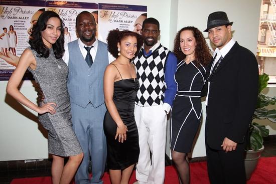 Mari White, Zeb Harris III, Aura Vence, Nicoye Banks, Marcelle Gover, and Michael Chenevert