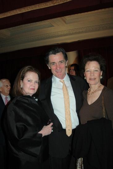 Susan Baker, Roger Rees and Karen Lerner