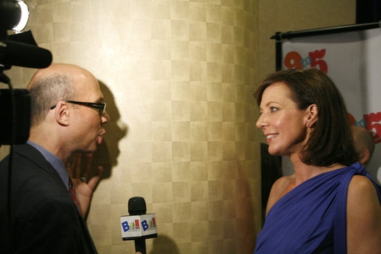Richie Ridge and Allison Janney