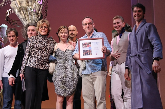 Zach Grenier, Jane Fonda, Samantha Mathis and The Cast of 33 Variations