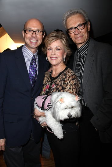 Richie Ridge, Jane Fonda, Tulea and Preston Ridge