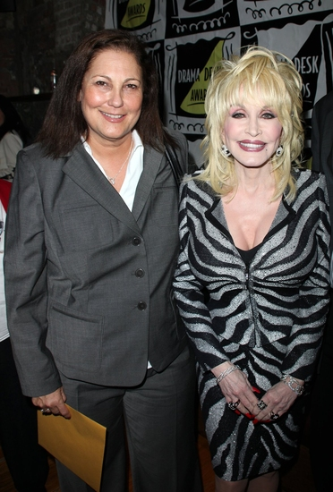 Patricia Resnick and Dolly Parton