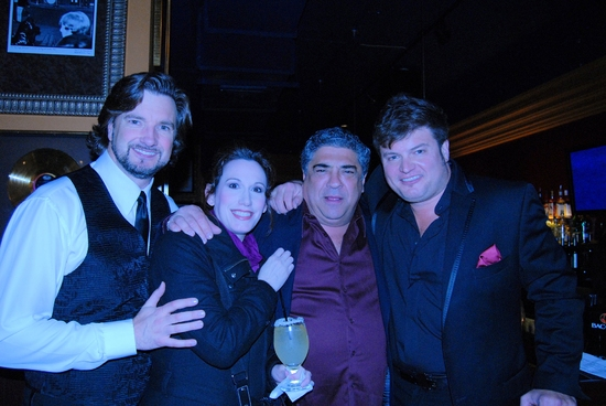 Brad Little, Andrea Rivett, Vincent Pastore, and Rob Evan