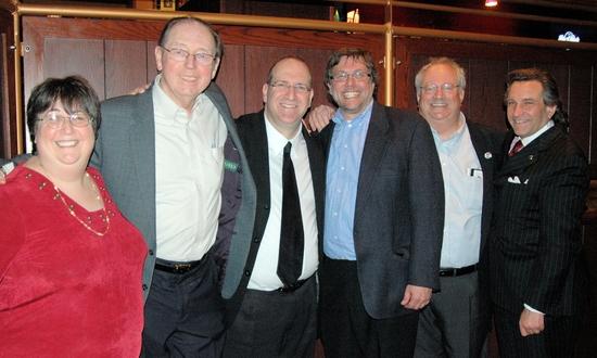 World Hunger Year comittee-Sue Leventhal, Neil Berg, Bill Ayres, Steven Beninati