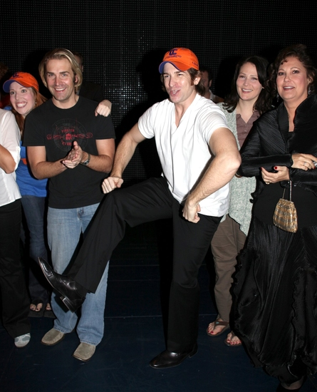 Tory Ross, Charlie Pollock, Andy Karl, Lisa Howard and Patricia Resnick