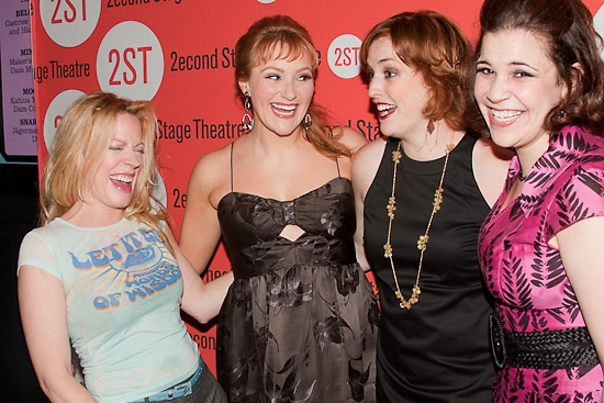 Photo Coverage: 'EVERYDAY RAPTURE' Celebrates Opening Night at Second Stage Theatre