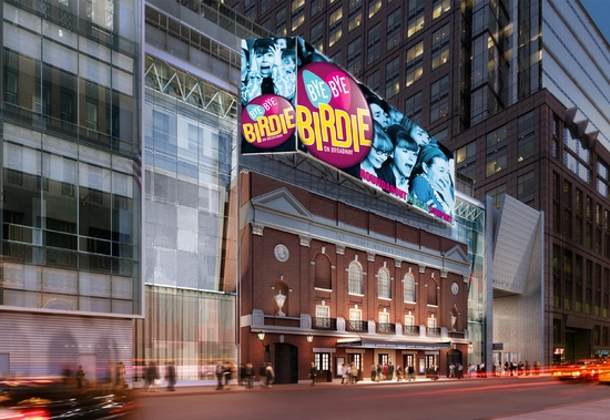 Photo Preview: Henry Miller's Theatre on West 43rd Street