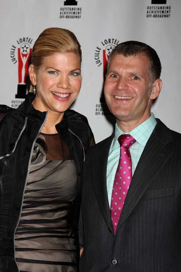 Kristen Johnston and George Forbes