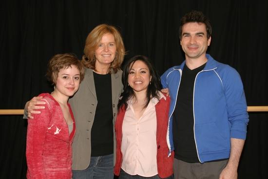 Lauren Ashley Carter, Jordan Baker, Maria-Christina Oliveras & Dan Domingues Photo