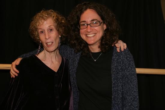 Susan Yankowitz & Daniella Topol at NIGHT SKY At Baruch Performing Arts Center