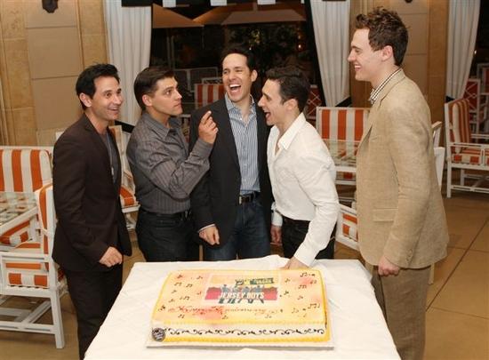Photo Flash: JERSEY BOYS Las Vegas Celebrates Its One Year Anniversary On The Strip 5/3