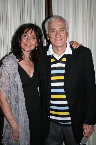 Emily Nash and Dick Latessa