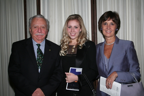 Manny Azenberg, Jessica Ezenberg and Lani Azenberg