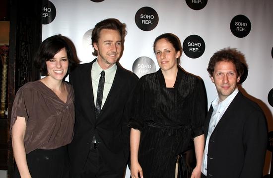 Parker Posey, Edward Norton, Sarah Benson and Tim Blake Nelson