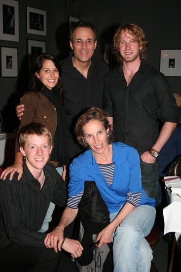 Laura Herd, John Bucchino, Brandan Irving, Lincoln Hall and Andrea Marcovicci