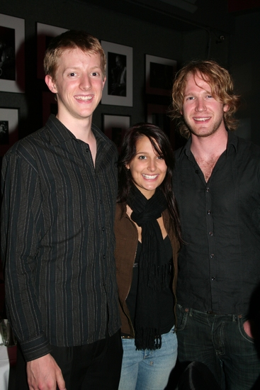 Lincoln Hall, Laura Herd and Brendan Irving
