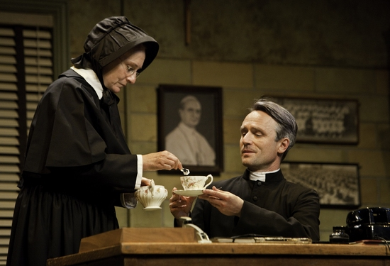 Seana McKenna and David Storch at DOUBT, A Parable At Canadian Stage Company