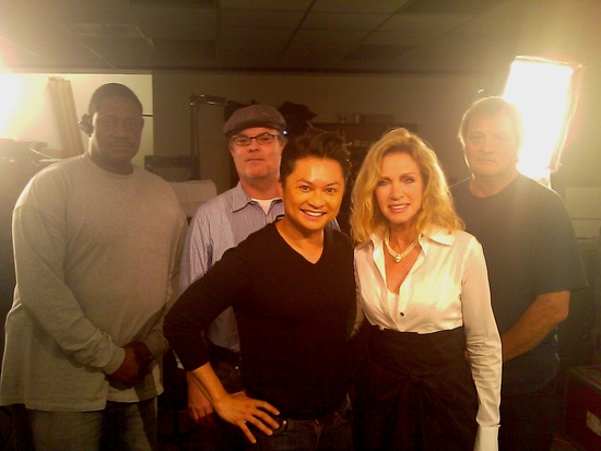 Alec Mapa and Donna Mills