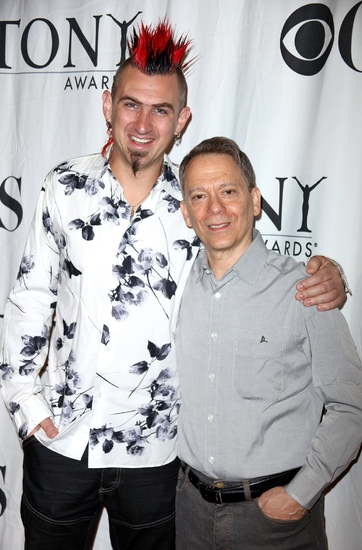 John Clancy and Danny Troob at Meet the Tony Award Nominees! - The Men: Part One