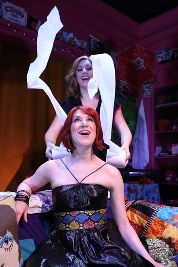 Melanie Adelman & Ellie Dvorkin at MEL & EL: SHOW AND TELL At Ars Nova