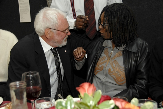 Norman Jewison and Whoopi Goldberg
