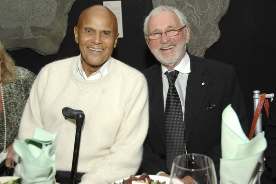 Harry Belafonte and Norman Jewison