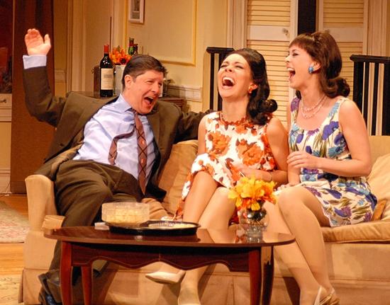 Photo Flash: The Odd Couple At John W. Engemant Theatre Of Northport NY
