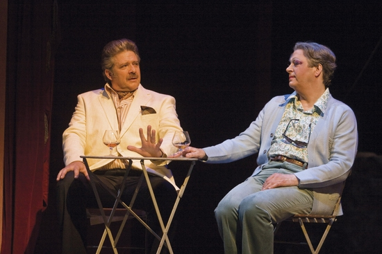 Philip Quast and Roger Allam at La Cage Aux Folles With Roger Allam & Philip Quast