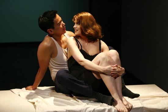 Joel de la Fuente and Juliana Francis-Kelly