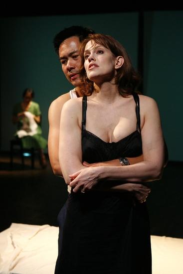 Sue Jean Kim, Joel de la Fuente and Juliana Francis-Kelly
