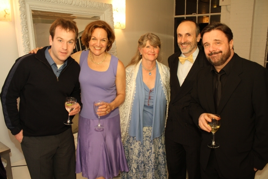 Mike Birbiglia, Lee Brock, Judith Ivey, Seth Barrish and Nathan Lane