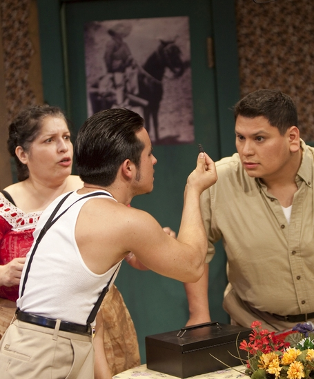 Albert Alcazar, Danny Moreno, and Bunnie Rivera