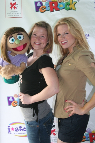 Kate Monster, Carey Anderson and Megan Hilty