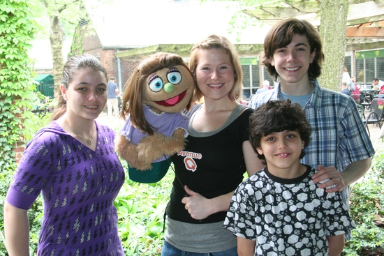 Reina Croce, Kate Monster, Carey Anderson, Nicholas Croce and Henry Hodges