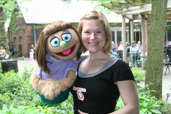 Kate Monster and Carey Anderson