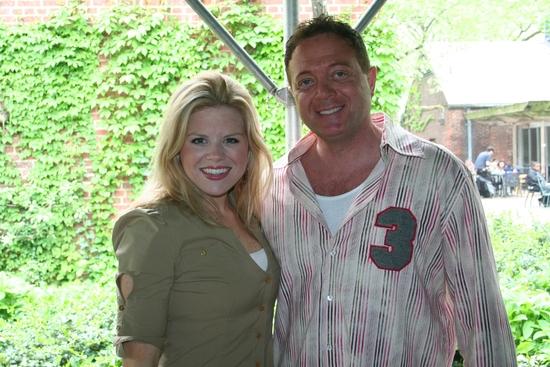 Megan Hilty and Johnny Rock