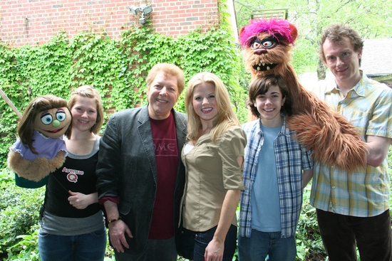 Kate Monster, Carey Anderson, Megan Hilty, Robert R. Blume,  Henry Hodges, Trekkie Monster and Christian Anderson