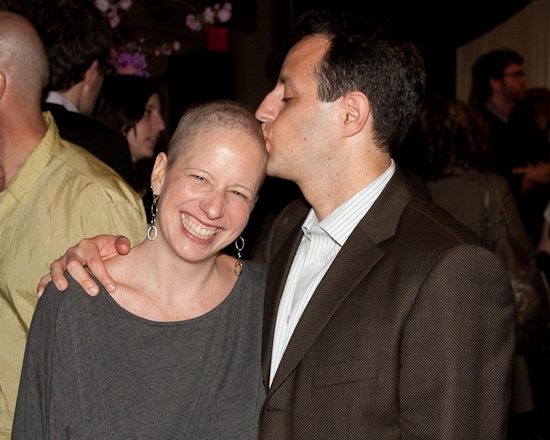 Jessica Moser and husband