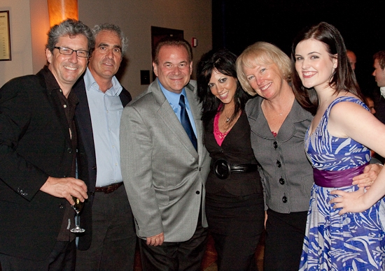 Charles Shaughnessy, Robert Sternin, Jeff Davis, Heather Provost, Prudence Fraser and Rachel Helson