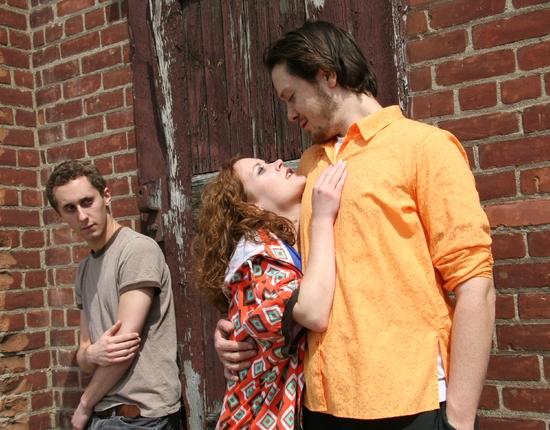 Matthew Turner Shelton, Melissa Beckwith, and Sean McGettigan